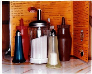 Condiments - A1 Cafe, Roman Road, Mile End, London 2004