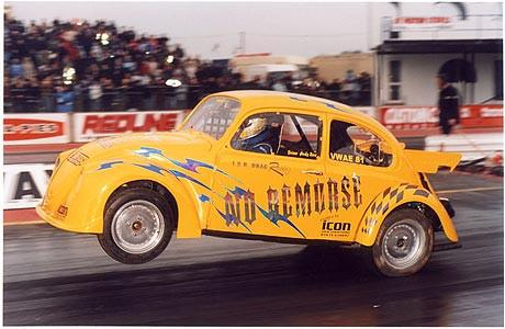 Andy Raw - No Remorse, Easter Thunderball, Santa Pod 2005