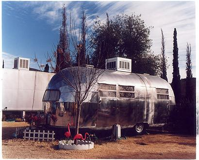 Flamingo trailer, Bisbee Arizona 2001