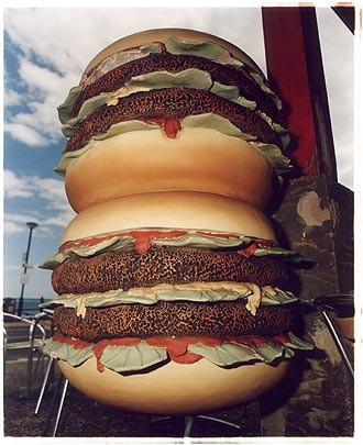 Two Double Cheese Burgers, Mundesley, Norfolk 2005