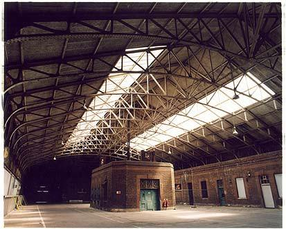 Ex-Railway Station Building, Port of Tilbury 2005