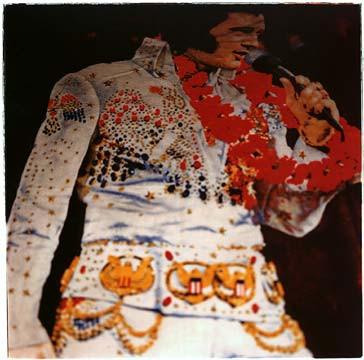 Elvis carpet, Las Vegas Nevada 2001