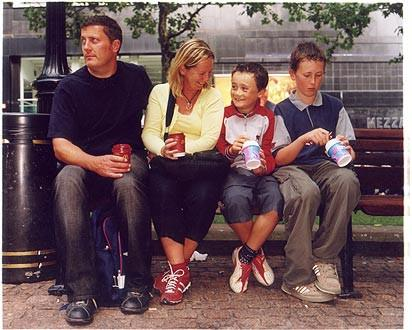 McLean Family, Leicester Square, London 2004