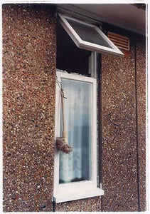 Toilet brush, Post War Prefab, Wisbech 1993