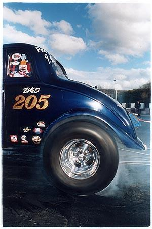 Jimmy Hibberd - Burn out, Shakespeare County Raceway 2006