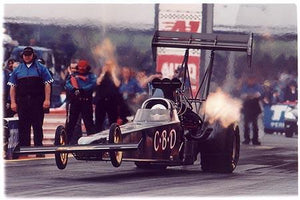 Gary Page - Launch (CBD), Main Event, Santa Pod 2005