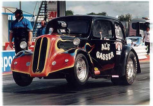 Al O'Connor - Al's Gasser, Main Event, Santa Pod 2005
