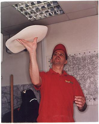 Mario II - Snappy Tomato Pizza, Earls Court, London 2004