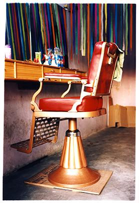 Salon Chair, Darjeeling, West Bengal, 2013