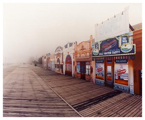 Saltwater Taffy in the Mist, Atlantic CIty, NJ, 2013