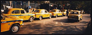 Yellow Taxi's, Kolkata, West Bengal, 2103