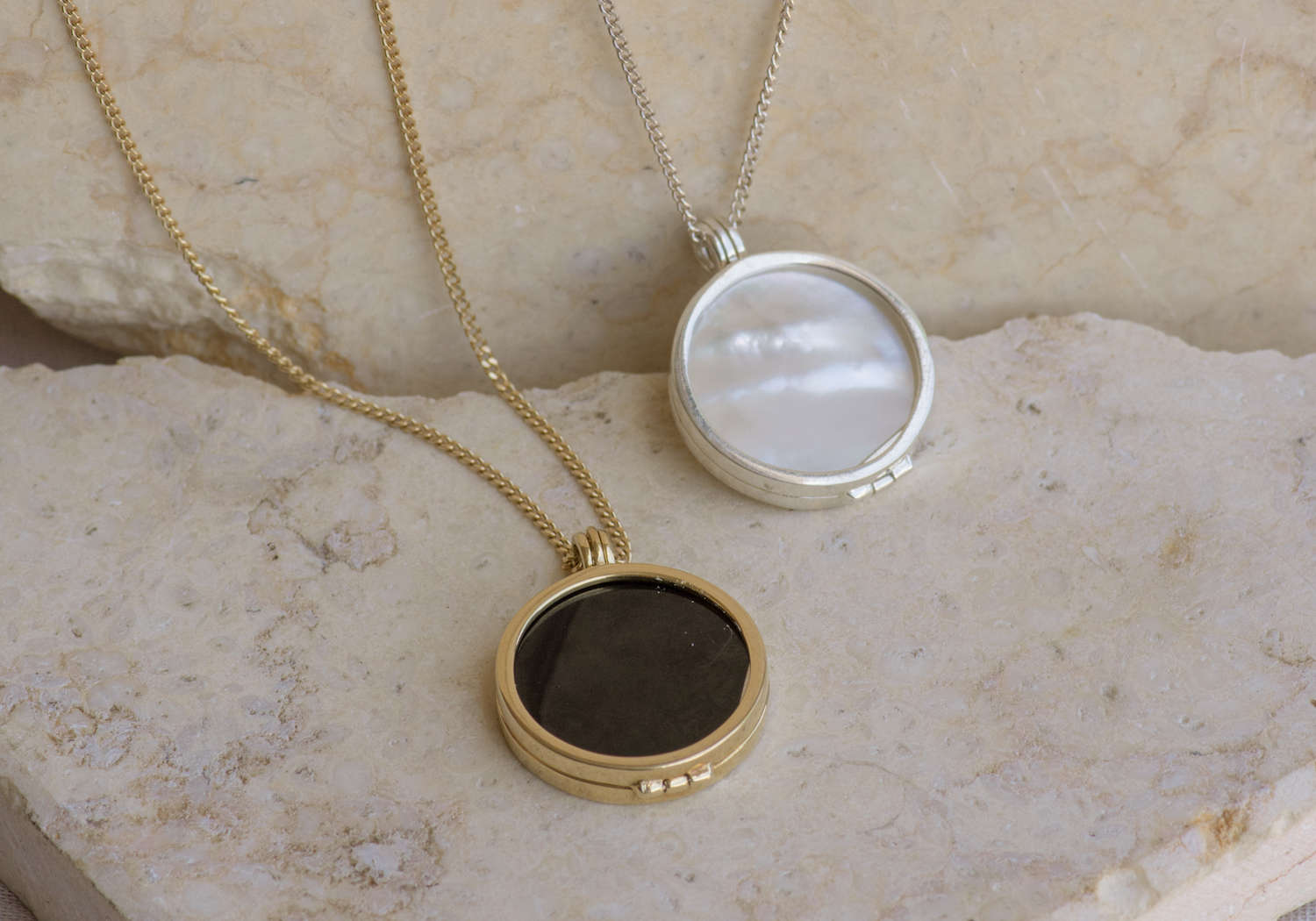 black pearl locket