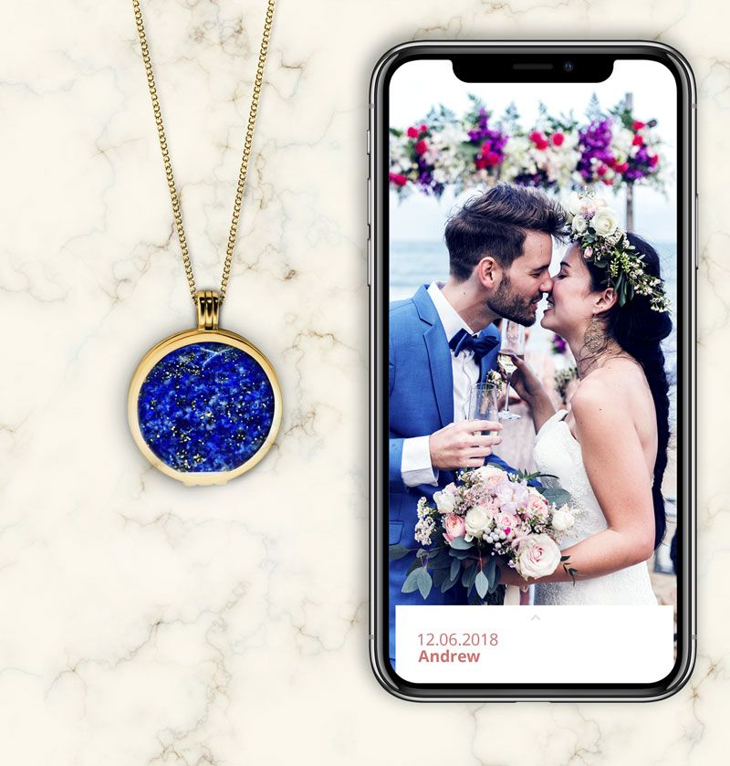 smart locket necklace explainer 4