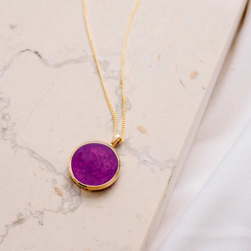 pink opal necklace evermee