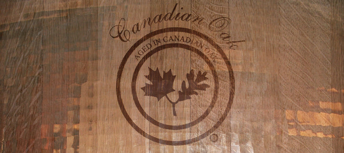 Aged in Canadian Oak