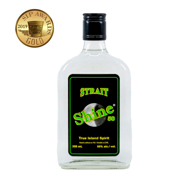 Strait Shine®️ 50% abv. 350mL