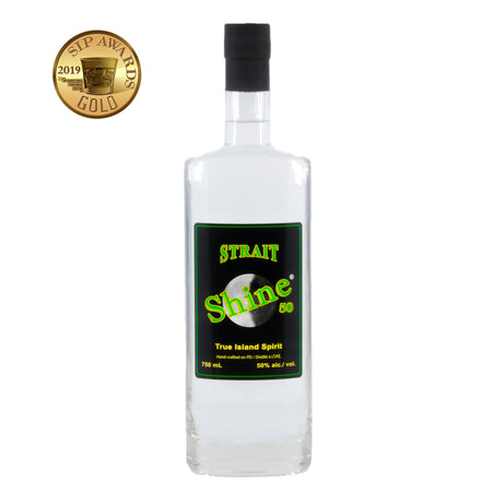 Strait Shine®️ 50% abv. 750mL