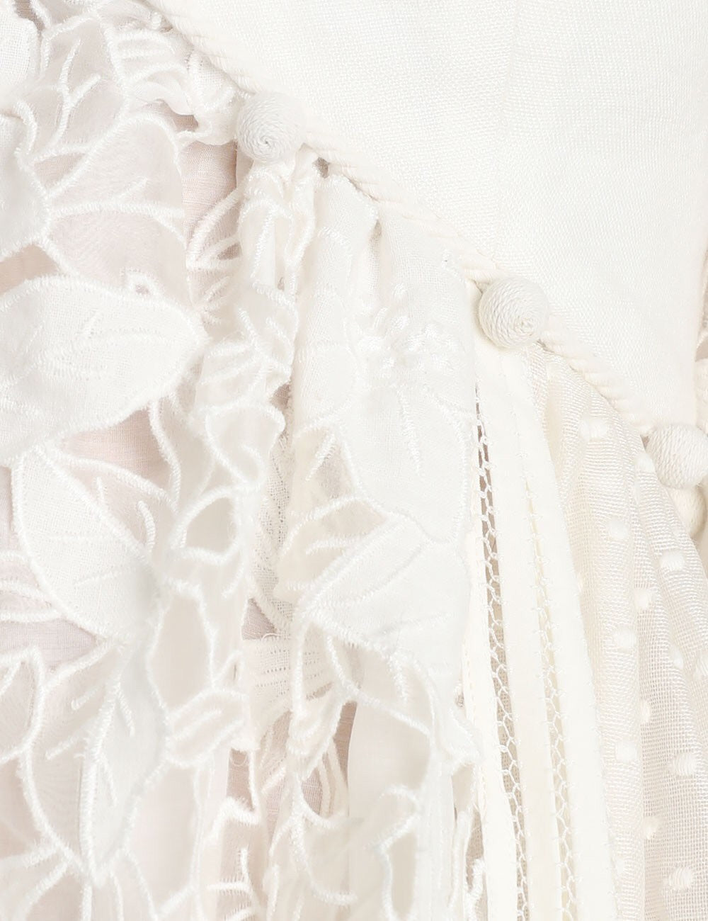 d2c8a3c60698 ... Load image into Gallery viewer, ZIMMERMANN Corsage Embellished Mini  Dress