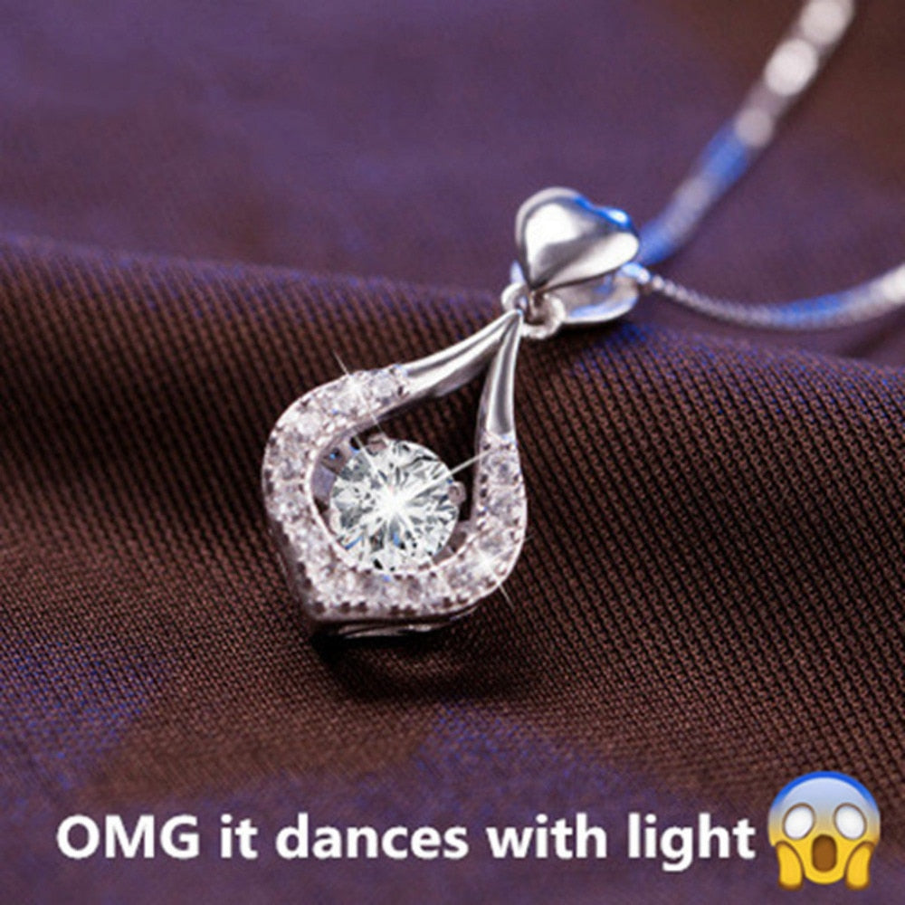 Water Drop Glowing Necklace