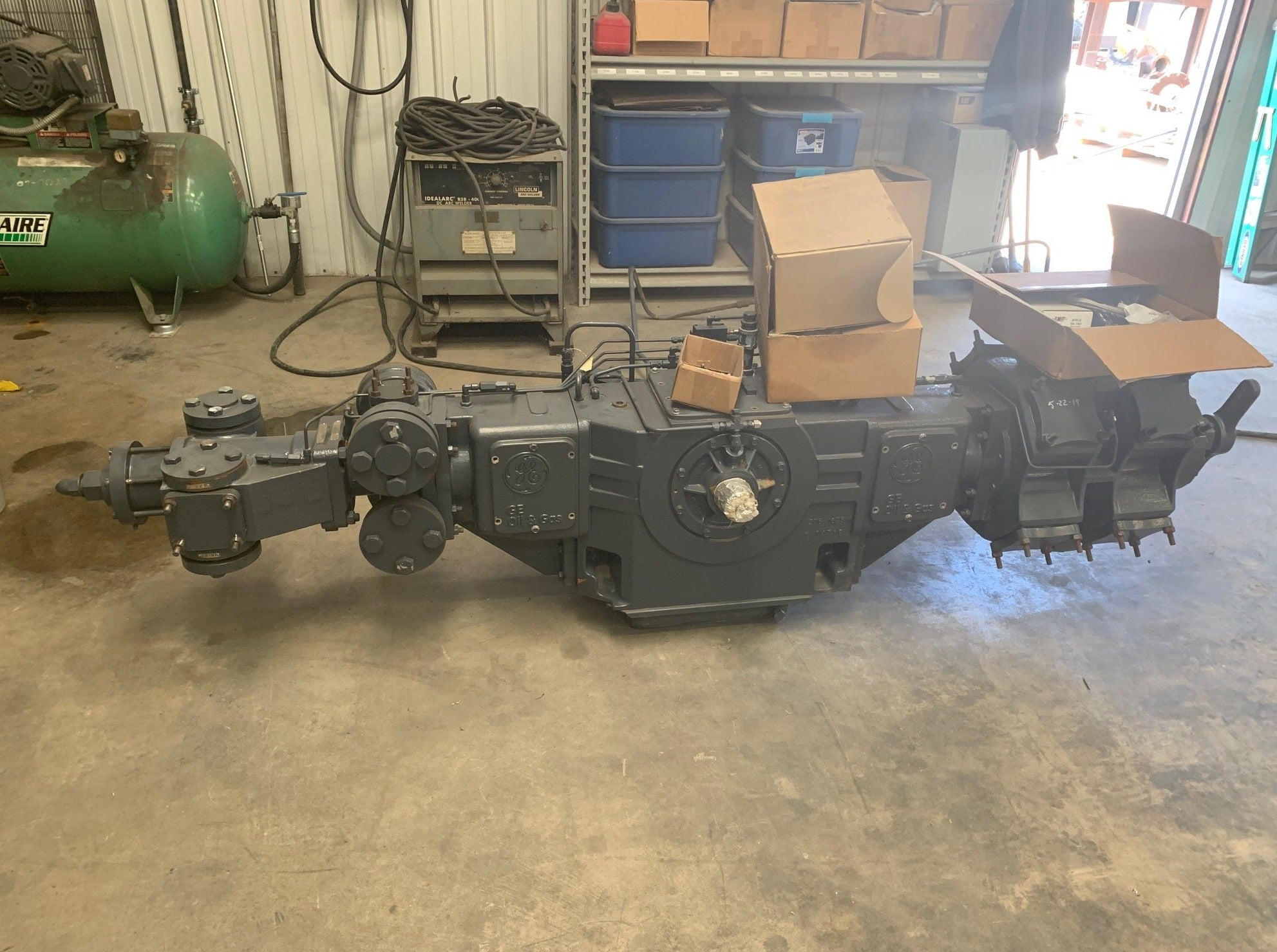 GE H302 Compressor Frame New