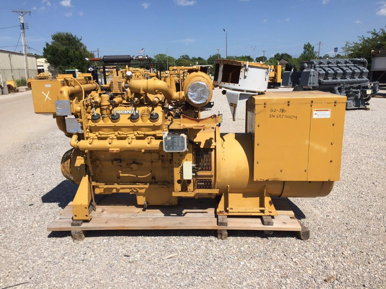 255kW - CATERPILLAR G3408TA LE CAT CORE