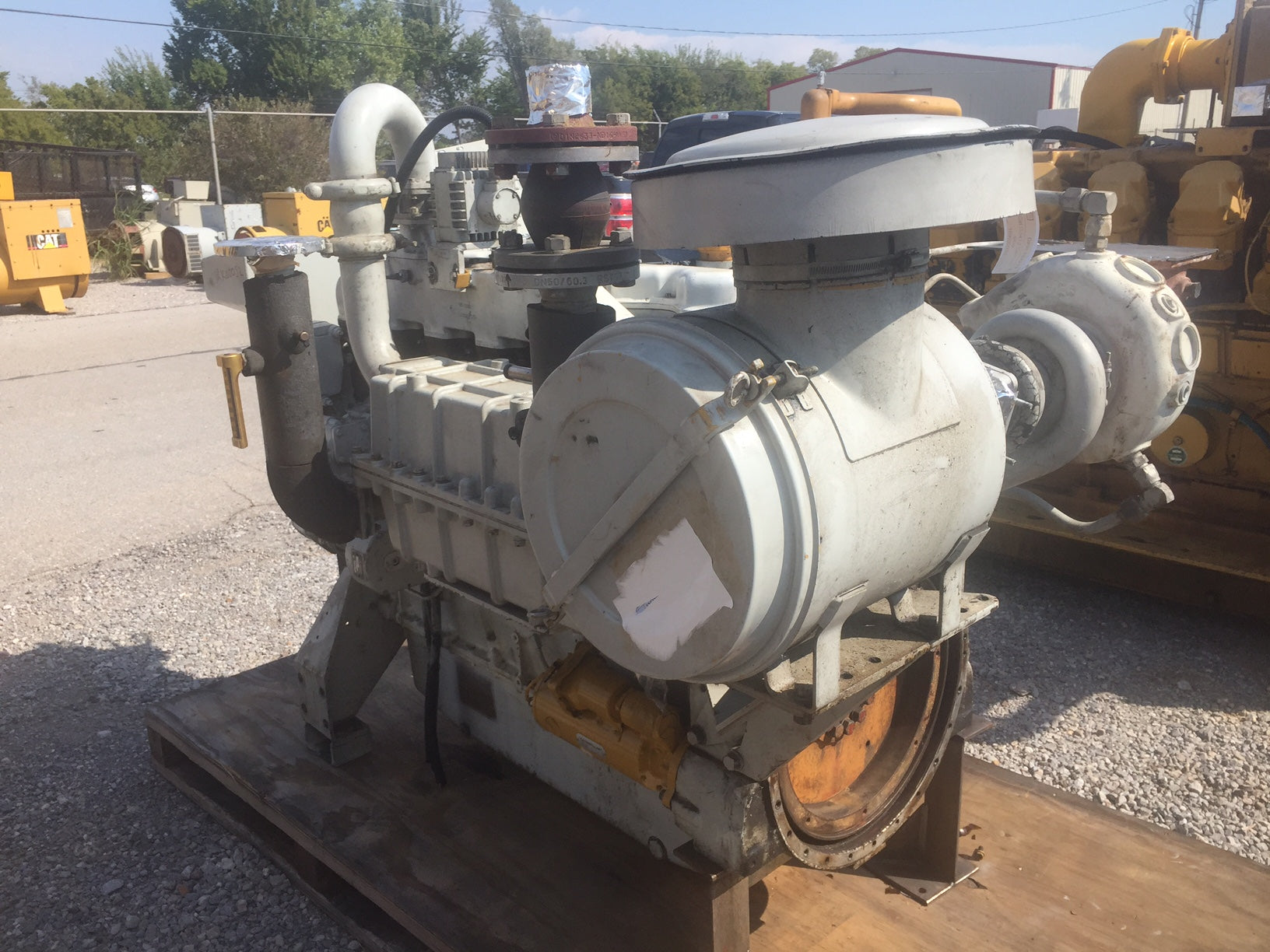 325HP - CAT G3406TA Natural Gas Engine Core