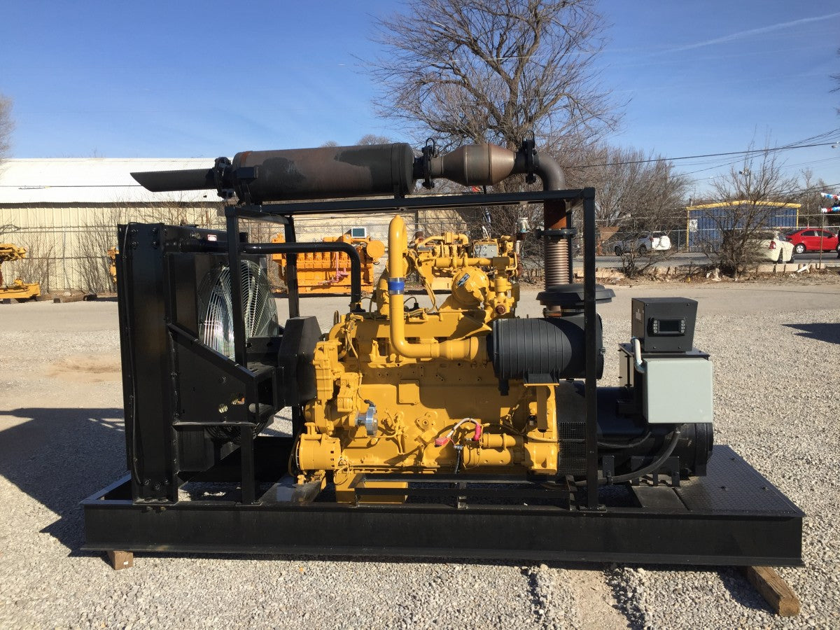 150kW - CATERPILLAR G3406NA REBUILT GENERATOR SET CAT