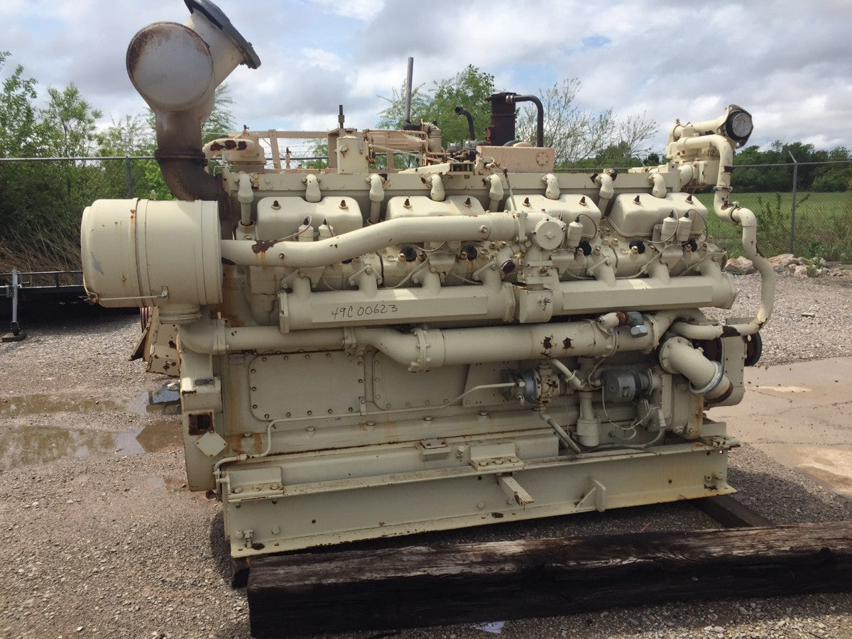 830HP - CAT G399SITA Natural Gas Engine Core