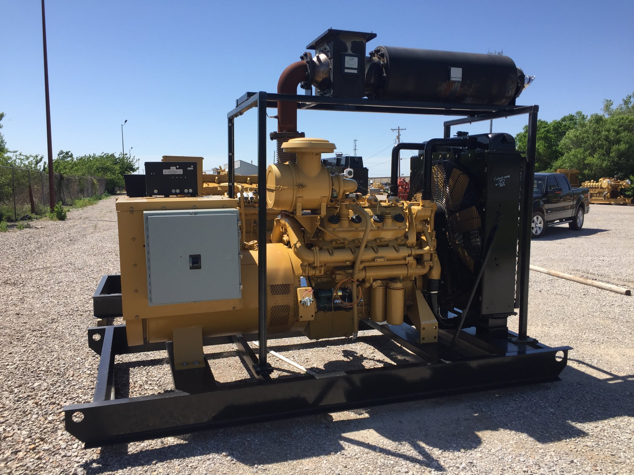 175kW - CATERPILLAR G3408NA