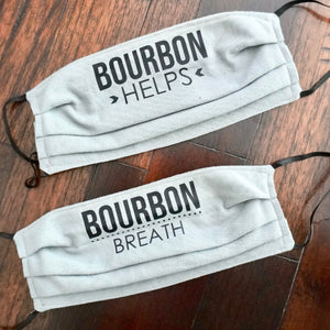 Bourbon Themed Face Mask