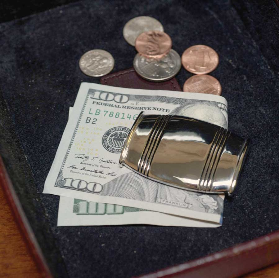 SOLD OUT Lexington Silver Money Clip