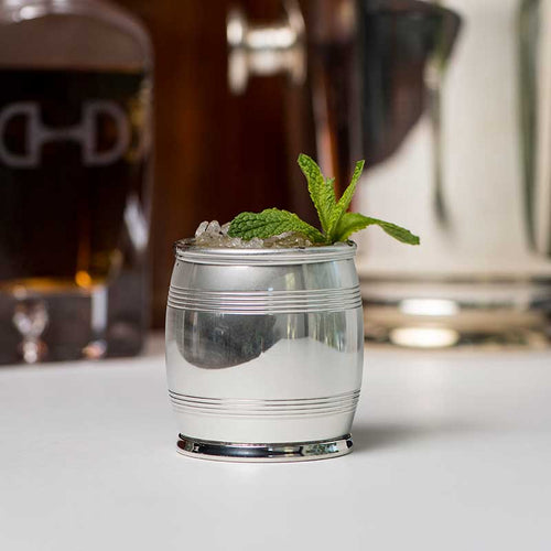 Asa Pewter 3 Inch Barrel Beaker from Lexington Silver