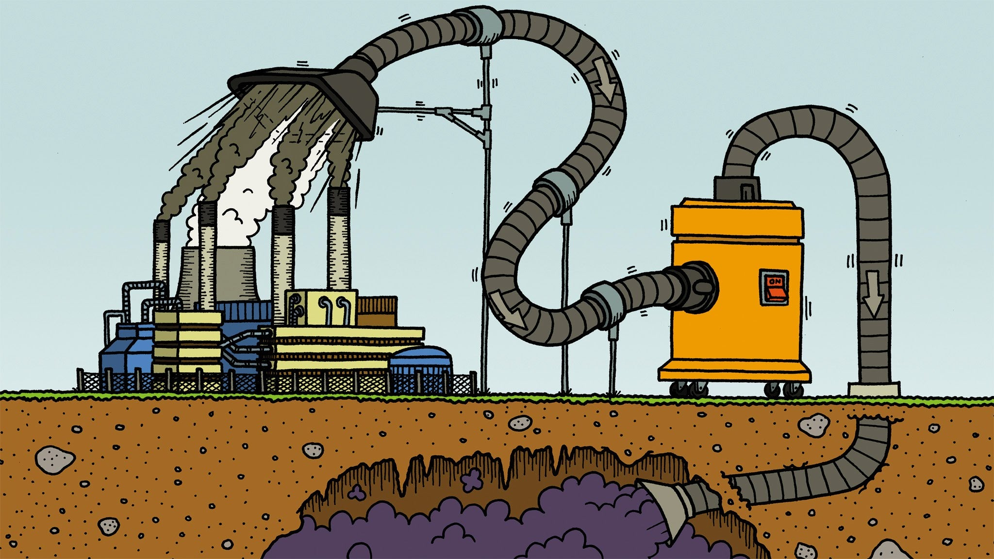 Carbon Capture – Saving the World by Putting a New Spin on a Natural Process