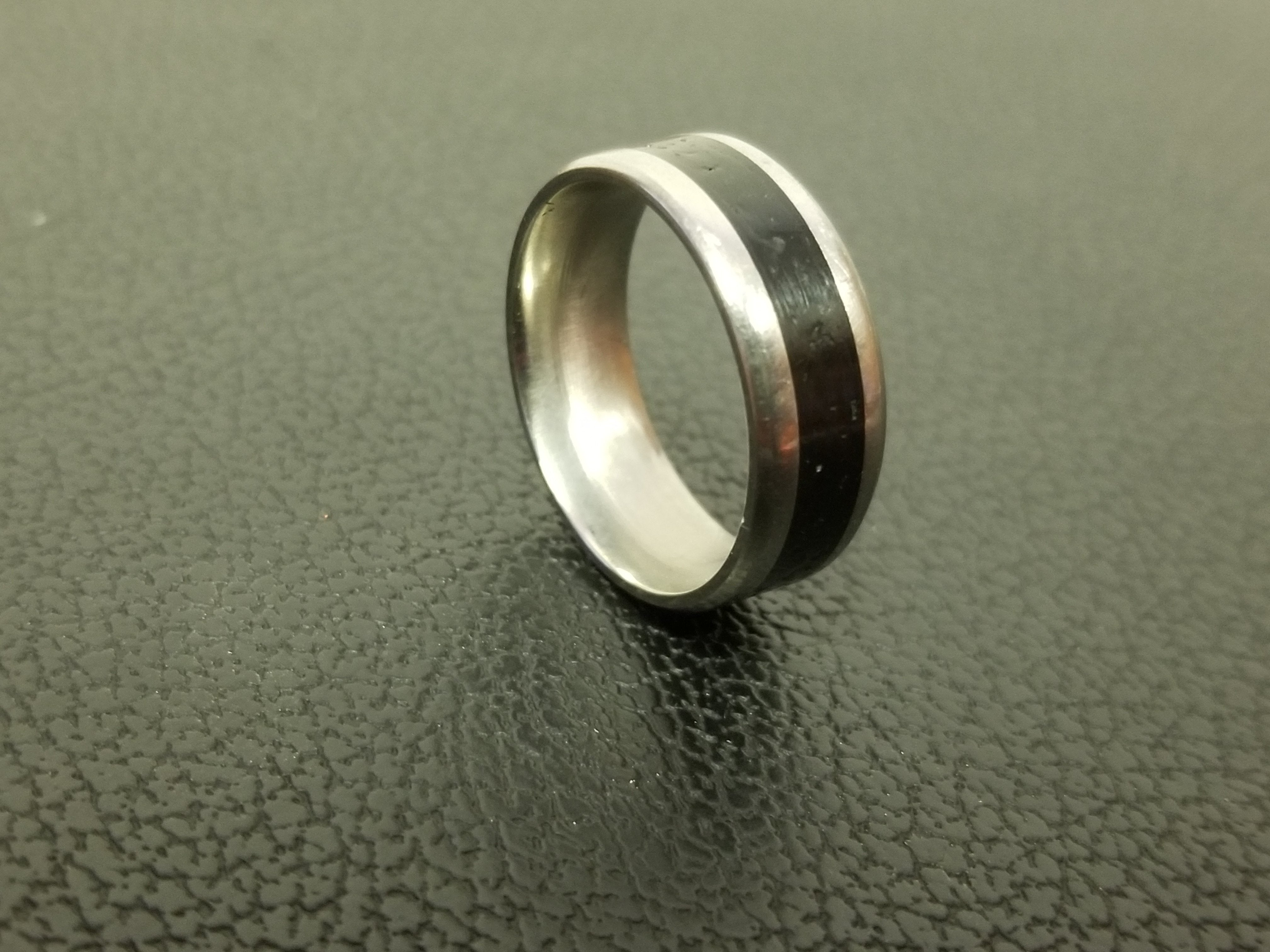 Eco Friendly Captured Carbon Ring