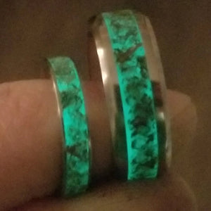 weed ring cannabis ring marijuana ring custom ring glow ring