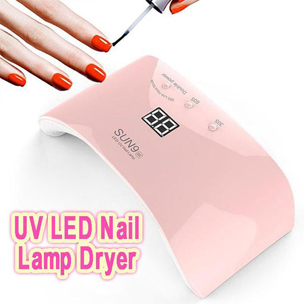 UV LED Nail Lamp Dryer-Beauty-unishouse.com-PINK-Eg-Unishouse.com