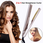 2 in 1 Straightener and Curler-Beauty-unishouse.com-Unishouse.com