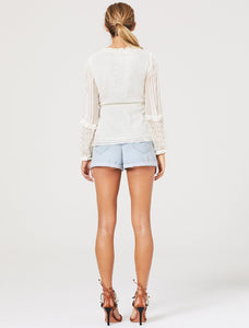 Separation L/S Top - Off White