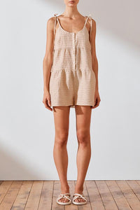 Farina Tiered Playsuit