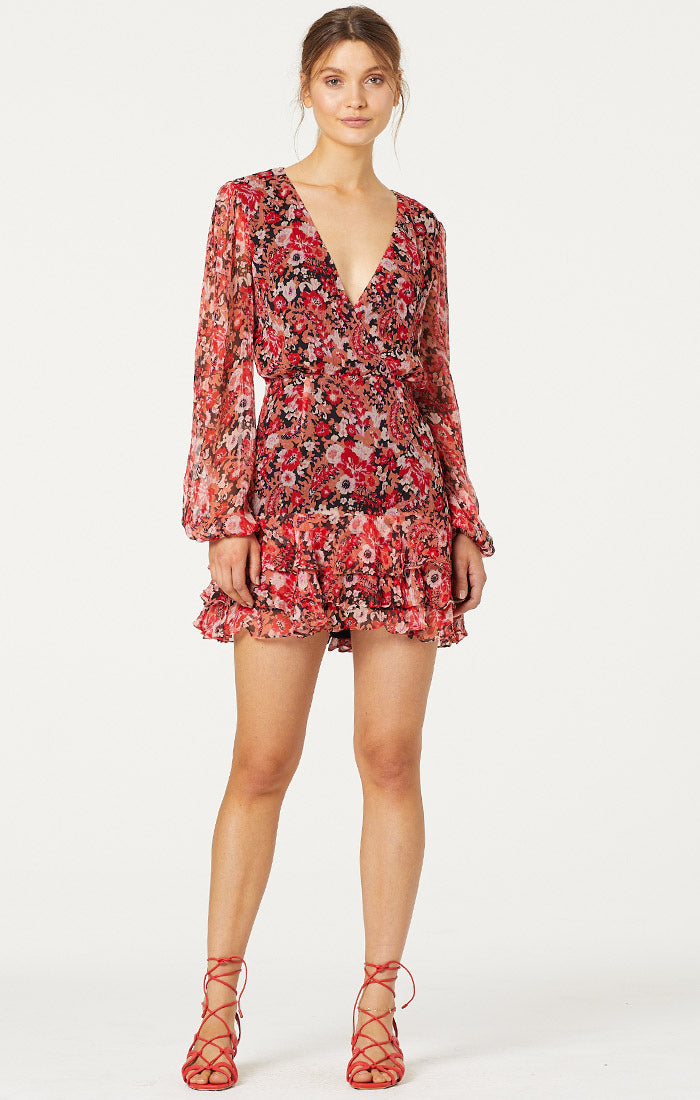 No Such Thing Mini Dress - Libarated Fleur