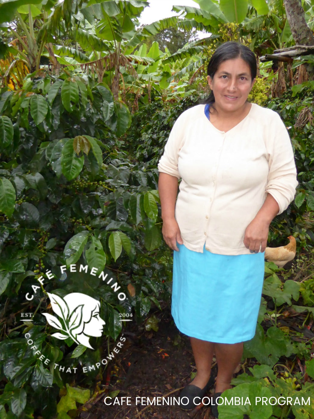 With every plant grown, the women farmers of the Café Femenino Colombia take up space in their communities, and contribute to their collective voice as women, farmers, and agents of social change.