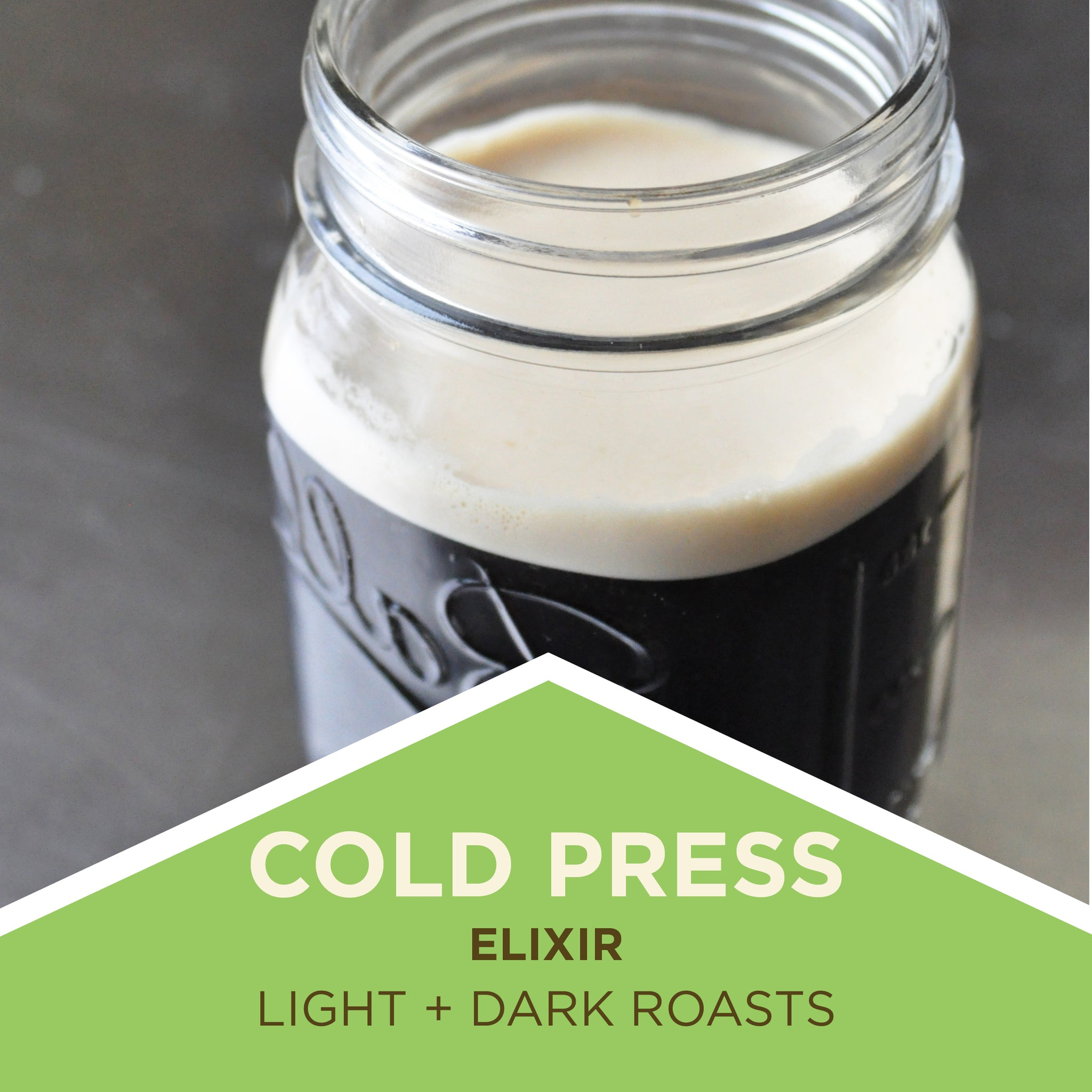 Cold Press Elixir - Cold Brew Coffee
