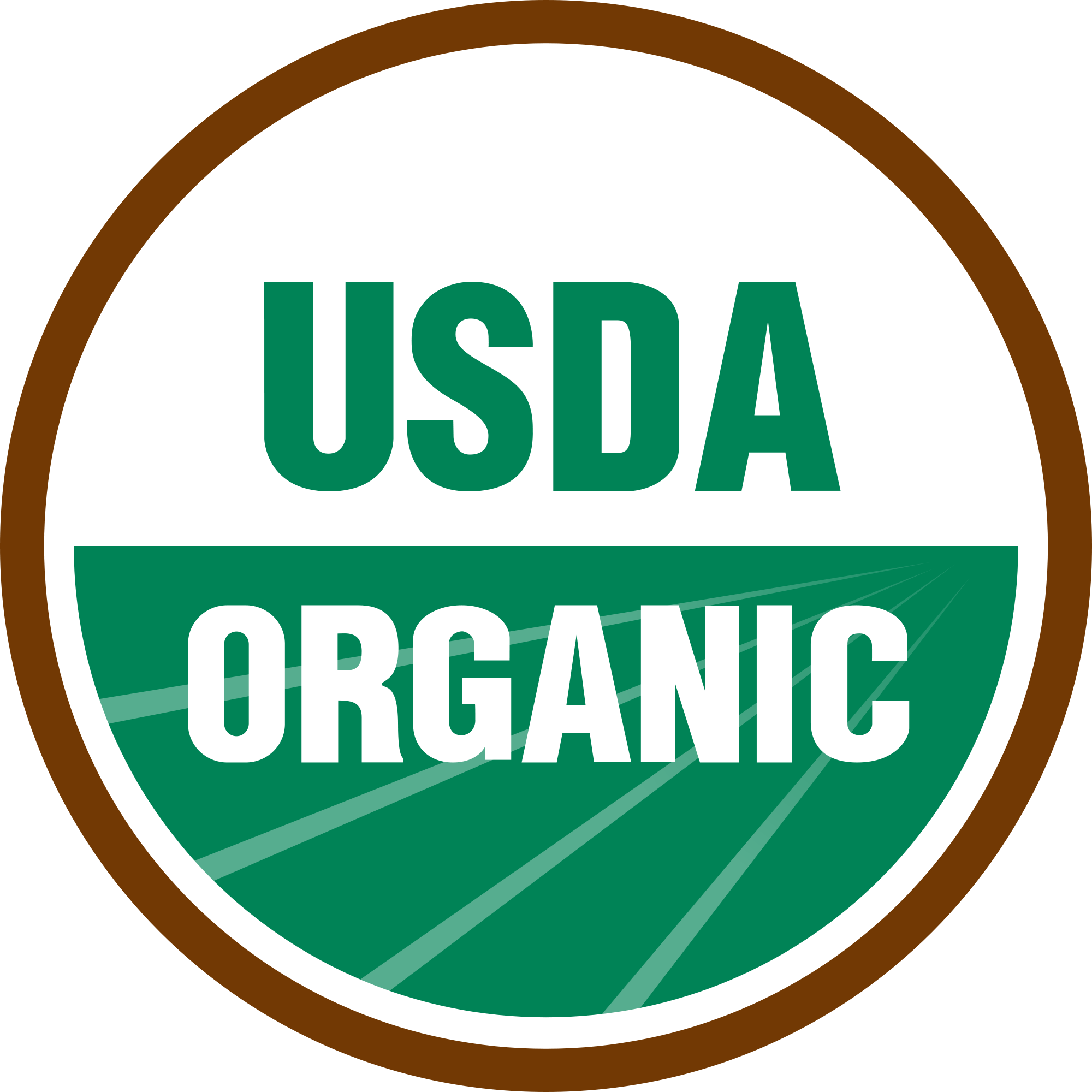 USDA Certified Organic Seal Coffee