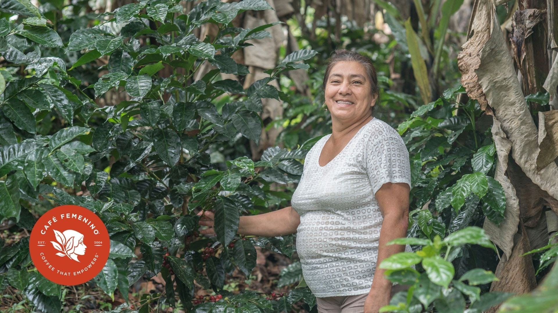 Café Femenino combines specialty coffee with social change for women, including these farmers from Inza, Cuaca and the Café Femenino Colombia Program. Image courtesy of Fair Trade USA.