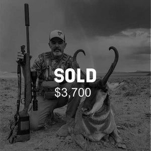 Lot #11: 2020 South Slope, Vernal; Buck Pronghorn: Any Legal Weapon