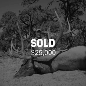 Lot #14: 2020 Mt Dutton; Bull Elk: Any Legal Weapon