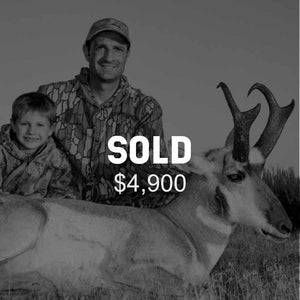 Lot #18: 2020 Plateau, Parker Mtn; Buck Pronghorn: Any Legal Weapon