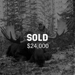 Lot #20: 2020 Wasatch Mtns / Central Mtns; Bull Moose: Any Legal Weapon