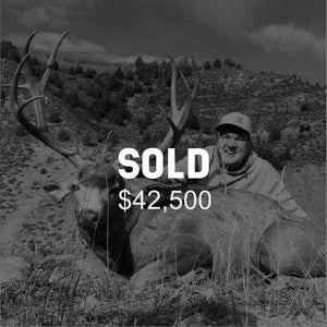 Lot #21: 2020 Paunsaugunt; Landowner Buck Deer: Season Choice