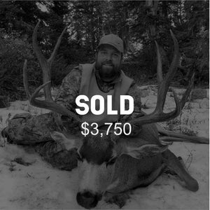 Lot #5: 2020 North Slope, Summit; Buck Deer: Any Legal Weapon